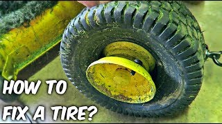 How to Fix a Tire?