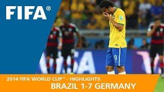 BRAZIL v GERMANY (1:7) - 2014 FIFA World Cup™