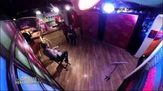 Klaas und Matthias Schweighöfer im Madame Tussauds (Circus HalliGalli) - EventTV