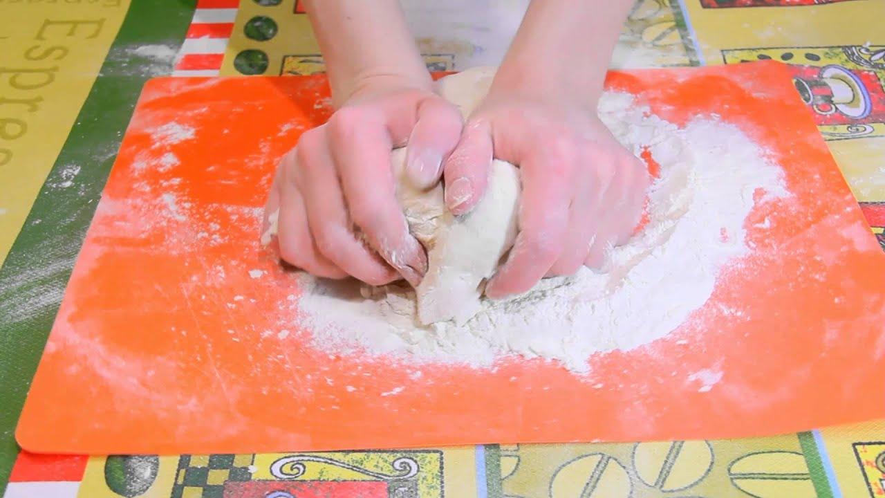Простое тесто для чебуреков на воде пошаговый рецепт с