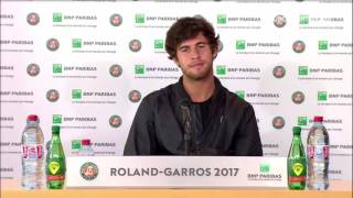 Karen Khachanov Press Conference RG17 - 4th of June