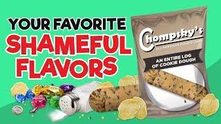 Your Favorite Shameful Flavors As Chips!