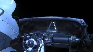 Live Views of Starman