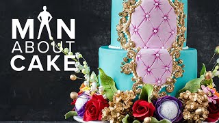 Baroque Inlaid Frame Cake for Joanna | Man About Cake SEASON 6 Finale with Joshua John Russell