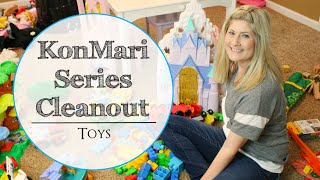 KONMARI SERIES ORGANIZATION | HOW I ORGANIZE AND DECLUTTER TOYS