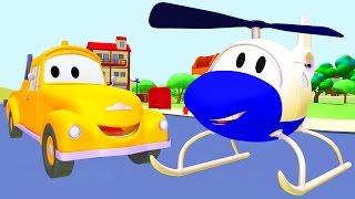 CHUCK & TOM der Abschleppwagen in AUTOPOLIS | Lastwagen Bau-Cartoon-Serie für KINDER