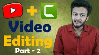 {HINDI} How to Edit Videos for YouTube || Professional Video Editing Software Complete Guide part 2