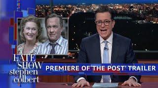 Colbert Premieres Exclusive Trailer Of