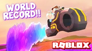 ROCKET FUEL VOLT BIKE!! | Roblox Jailbreak World Record