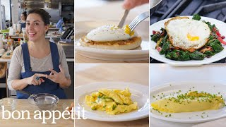 Carla Makes Eggs Four Ways: Poached, Fried, Scrambled & Omelette