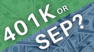 Does the SEP or 401k Strategy Make More Sense? | Mark J Kohler | Tax & Legal Tip