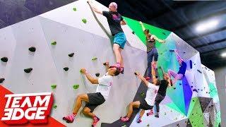 King of the Rock Wall!   Ninja Warrior Challenge