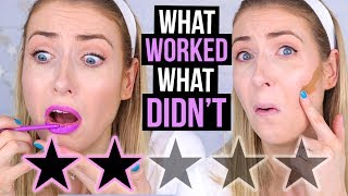 FULL FACE Testing WORST RATED Makeup: SEPHORA Edition! || What Worked & What DIDN