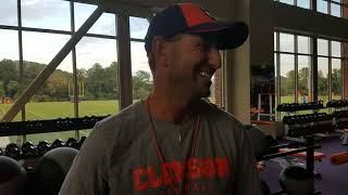 TigerNet.com: Dabo on Elvis and Baby Got Back