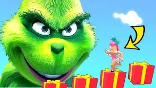 Roblox: ESCAPE THE GRINCH STOLE CHRISTMAS OBBY!!!