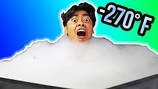 I Tried Cryotherapy -270°F (-140°C) For The First Time!