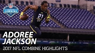 Adoree Jackson (USC, DB) | 2017 NFL Combine Highlights