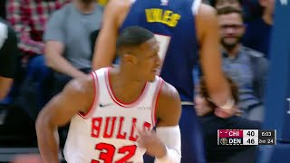 2nd Quarter, One Box Video: Denver Nuggets vs. Chicago Bulls