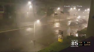 Hurricane Maria Bears Down On Caribbean Islands