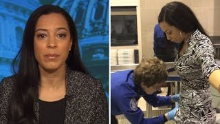 CNN Commentator Seen Crying During Invasive Airport Body Search By TSA