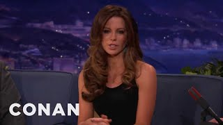 """Kate Beckinsale On """"Underworld"""" Suit, Acting For Swedes - Conan on TBS"""