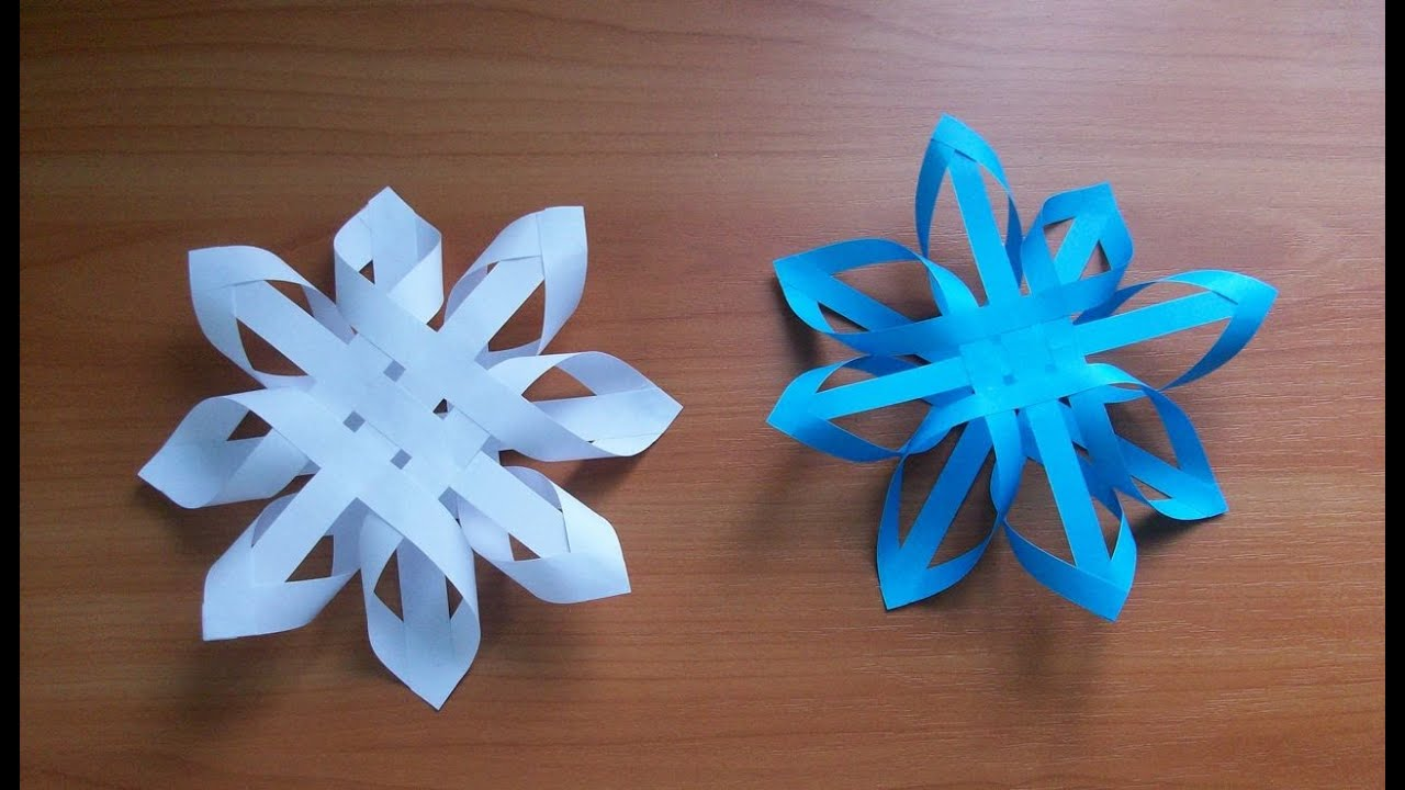 Простые поделки из бумаги своими руками на новый год