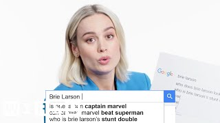Brie Larson Answers the Web