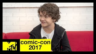 Stranger Things' Gaten Matarazzo on Season 2 & Marvel Fan Theories | Comic-Con 2017 | MTV