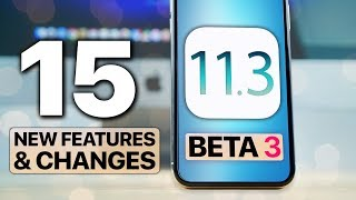 iOS 11.3 Beta 3! 15 New Features & Changes