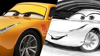 How to Draw: Cruz Ramirez from Cars 3 | Pixar LIVE