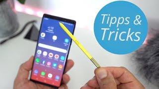 Samsung Galaxy Note 9: Tipps, Tricks und S-Pen Features | deutsch