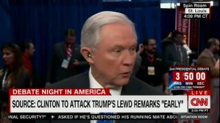 The Situation Room   Jeff Sessions defends Trump on lewd tape