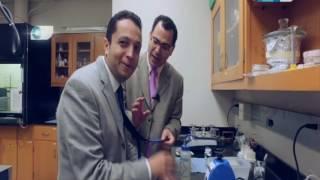 مصر تستطيع|  لهذا السبب أحمد فايق يندهش عند زيارته لمعامل أبحاث النسيج بجامعة نورث كارولينا
