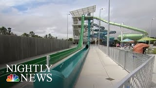 Boy Thrown From Water Slide At California Water Park   NBC Nightly News