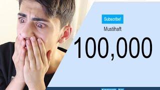 15 JÄHRIGER REAGIERT AUF 100.000 ABONNENTEN !! 😍😍