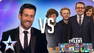 Jamie Raven vs Only Boys Aloud | Britain