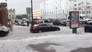 Град в Питере 22.07.17! Московские ворота.