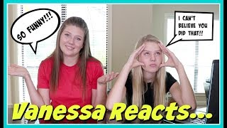 VANESSA REACTS TO TAYLOR