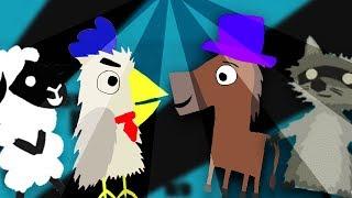 Tanzparty auf der Party「Ultimate Chicken Horse」
