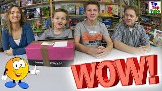 WOW! Coole Überraschung von Noah | Geschenke auspacken | Fanpost Vlog TipTapTube
