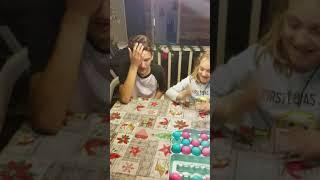 Egg roulette gender reveal- the kids!