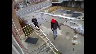 Clair Home Burglary Surveillance Video