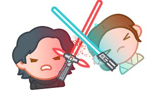 Star Wars: The Force Awakens as told by Emoji | Disney