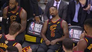 Unseen & Uncut Footage of LeBron & JR Smith after Smith