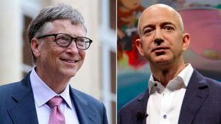 Battle of the billionaires: Jeff Bezos vs. Bill Gates