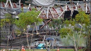 One dead as Singapore bridge collapses