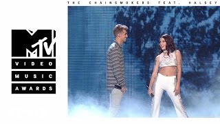 The Chainsmokers - Closer (Live from the 2016 MTV VMAs) ft. Halsey