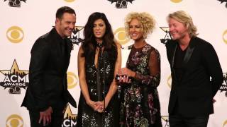 2015 ACM Awards Press Room : Little Big Town