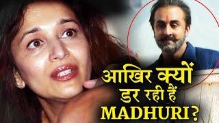 Why Madhuri Scared Of Sanjay Dutt