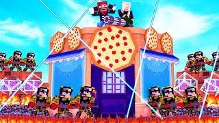 ICH VERTEIDIGE MEINE PIZZA FESTUNG!